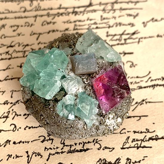 鉱物コラージュ標本/きらら舎
