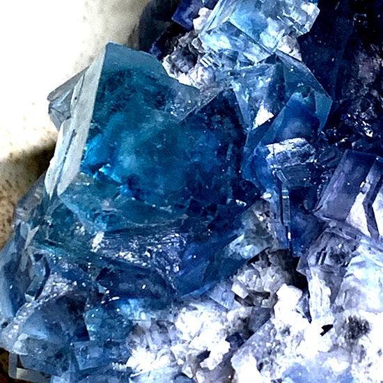 中国産の青い蛍石/きらら舎