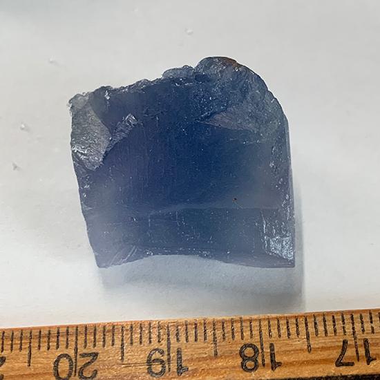 中国の青い蛍石欠片/きらら舎