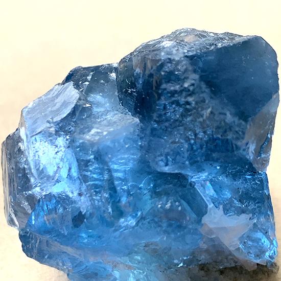 湖南省産の青い蛍石/きらら舎