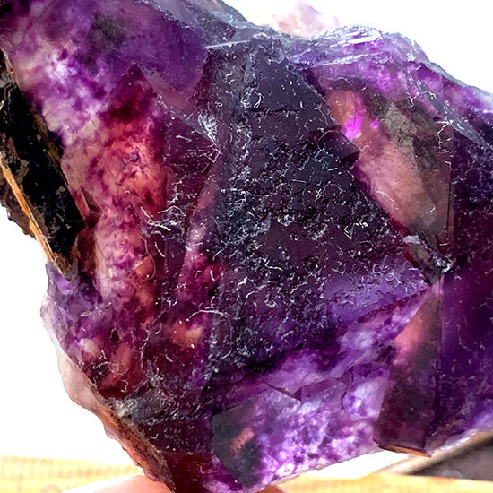 八面体結晶蛍石/きらら舎