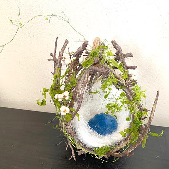 鳥の巣リース/きらら舎